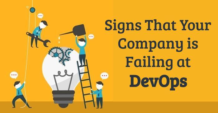 Failing at DevOps